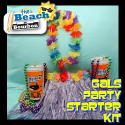 gals party starter kits at The Beach on Bourbon